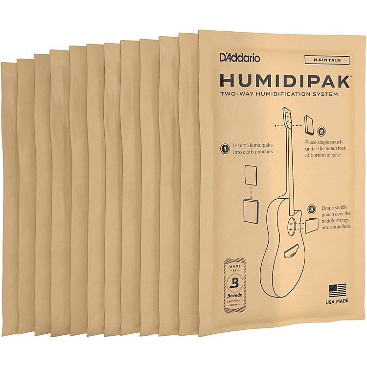D'Addario Planet Waves Two-Way Humidification Replacement 12-Pack