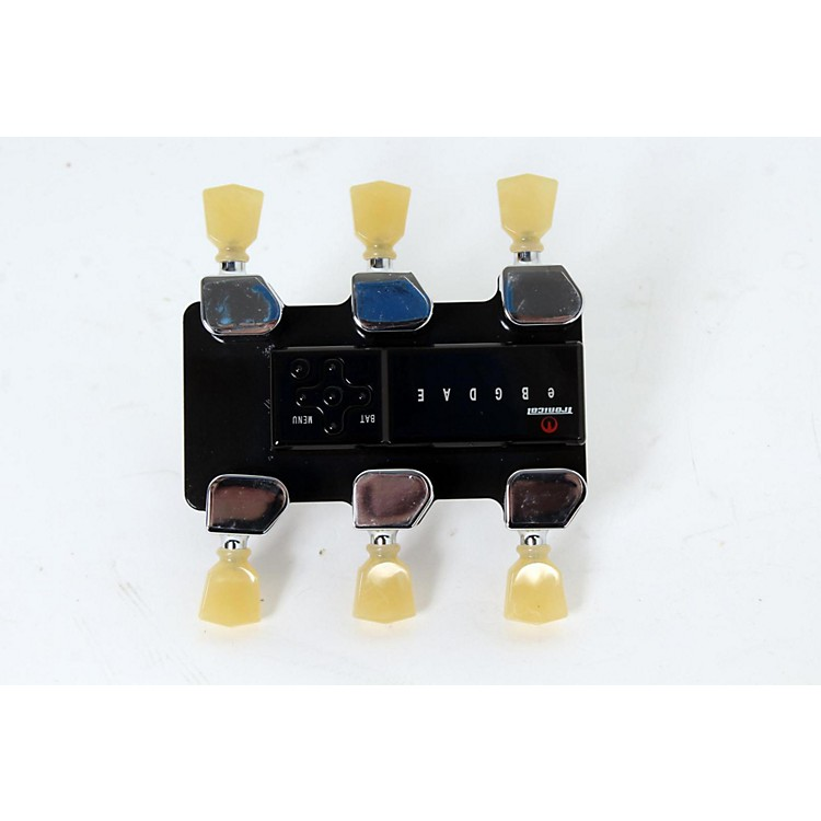 Tronical Tuning SystemsType E Self Tuner for Gibson, Epiphone & FGN GuitarsVintage White Marbled Tulip Button888365569260