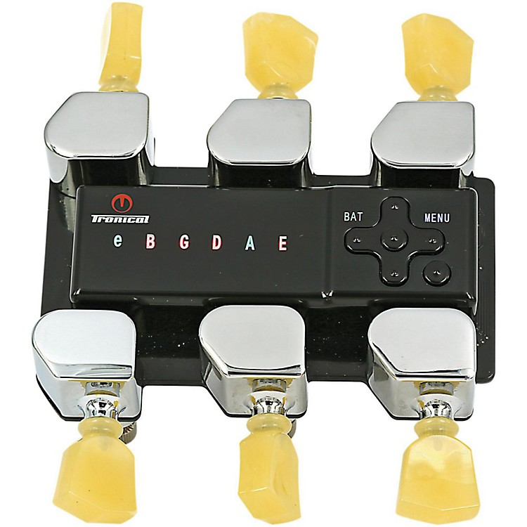 Tronical Tuning SystemsType I Self Tuner for Ibanez GuitarsVintage White Marbled Tulip Button
