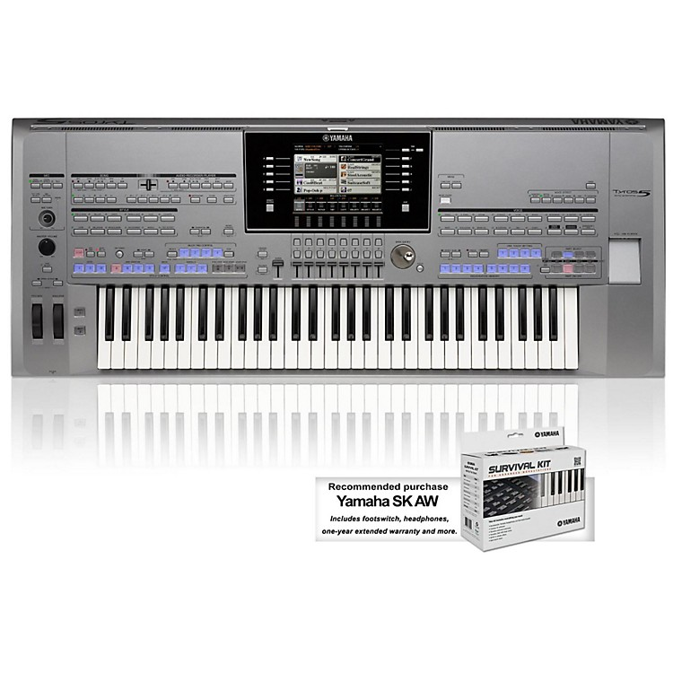 Yamaha Tyros5 61-Key Arranger Workstation
