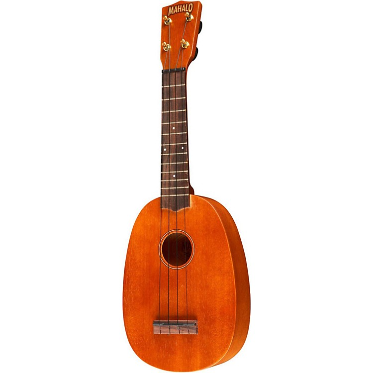 mahalo u 320p deluxe pineapple soprano ukulele music123. Black Bedroom Furniture Sets. Home Design Ideas