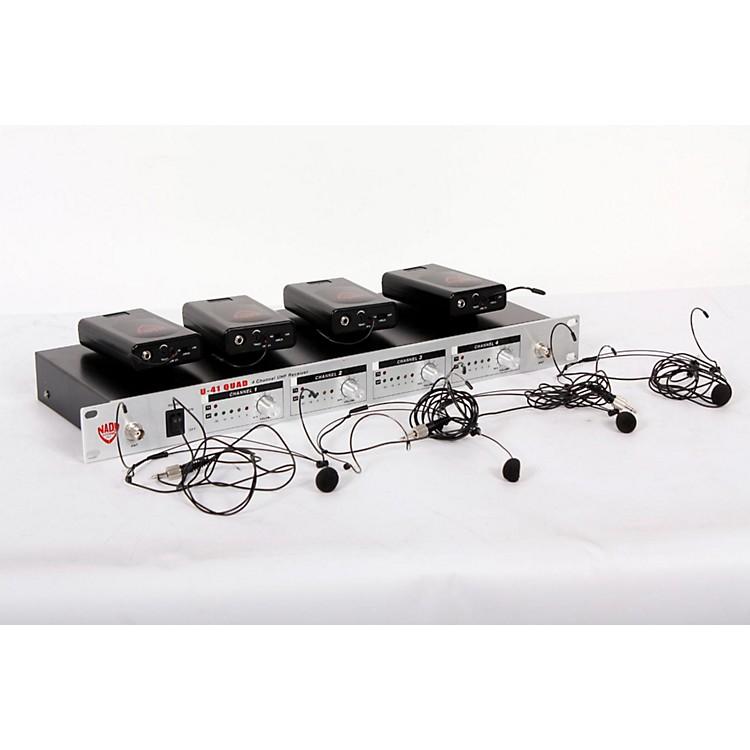 NadyU-41 Quad HM3 Headset Wireless System (14/16/10/12)Black888365808765