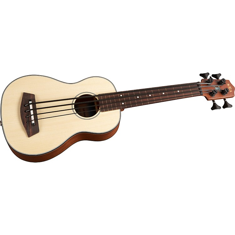 Kala U-BASS Fretless Acoustic-Electric Bass Ukulele
