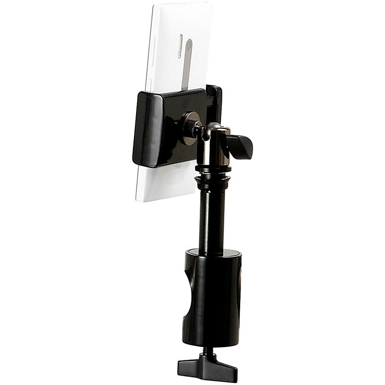 On-Stage Stands U-Mount TCM1901 Grip-On Universal Device Holder with Round Clamp