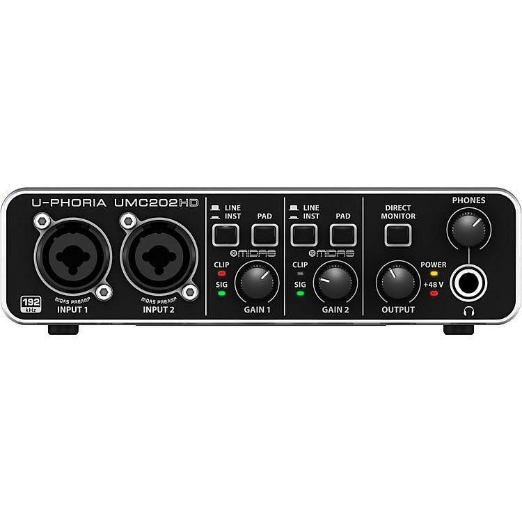 BehringerU-PHORIA UMC202HD Audiophile 2x2, 24-Bit/192 kHz USB Audio Interface