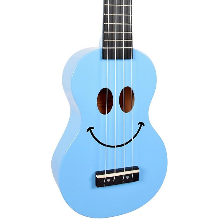 MahaloU Smile Soprano UkuleleLight Blue