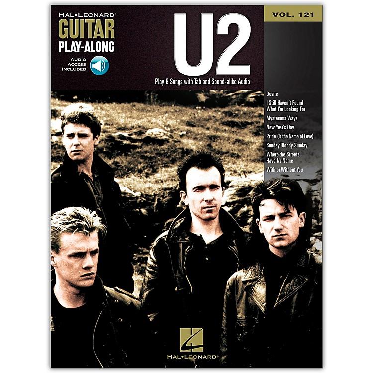 Hal LeonardU2 - Guitar Play-Along Volume 121 (Book/Online Audio)