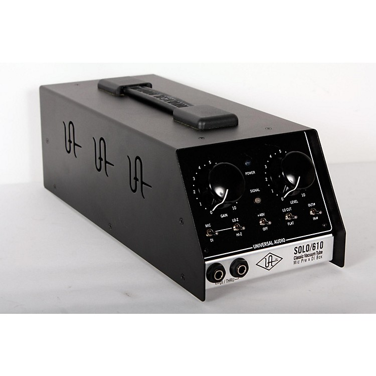 Universal Audio UA-S610 SOLO/610 Classic Vacuum Tube Microphone Preamp and DI Box  888365849782