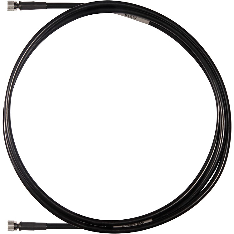 Shure UA806-RSMA 6 ft. Reverse SMA Cable for GLX-D Advanced Digital Wireless Systems Band 1 Black