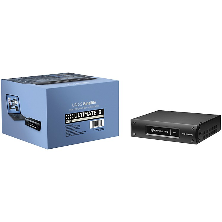 Universal AudioUAD-2 OCTO Ultimate 6 DSP Accelerator Card (USB)