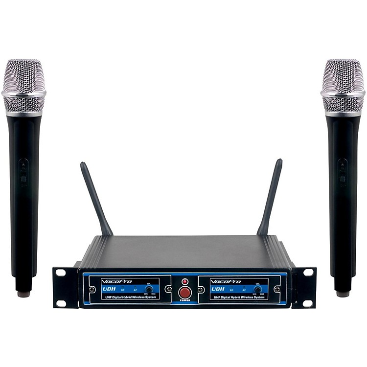 VocoPro UDH-DUAL-H Hybrid Wireless System Band H1