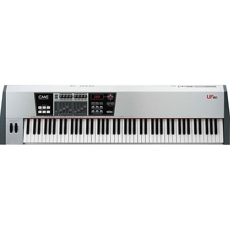 cme uf 80 88 key master keyboard midi controller music123. Black Bedroom Furniture Sets. Home Design Ideas