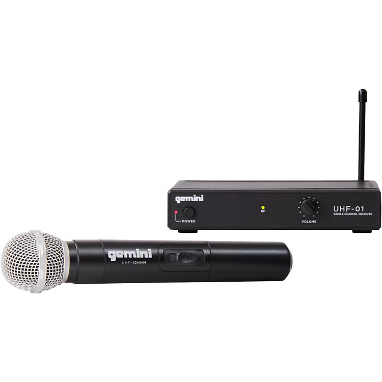 GeminiUHF-01M Wireless Handheld Microphone SystemF1