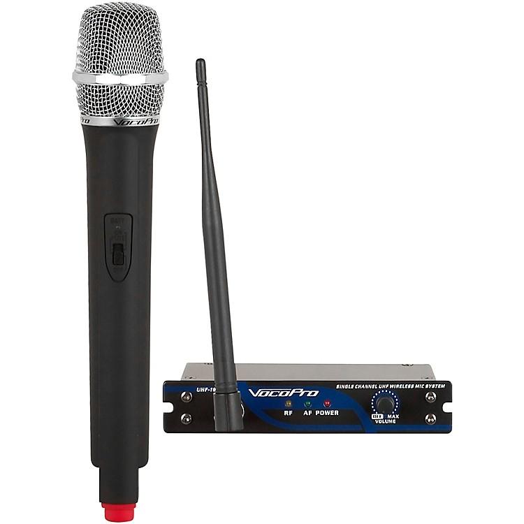 VocoProUHF-18 Single Channel UHF Wireless Mic SystemBand 9