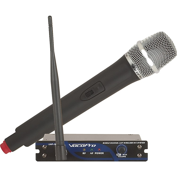 VocoPro UHF-18 Single Channel UHF Wireless Mic System Band N