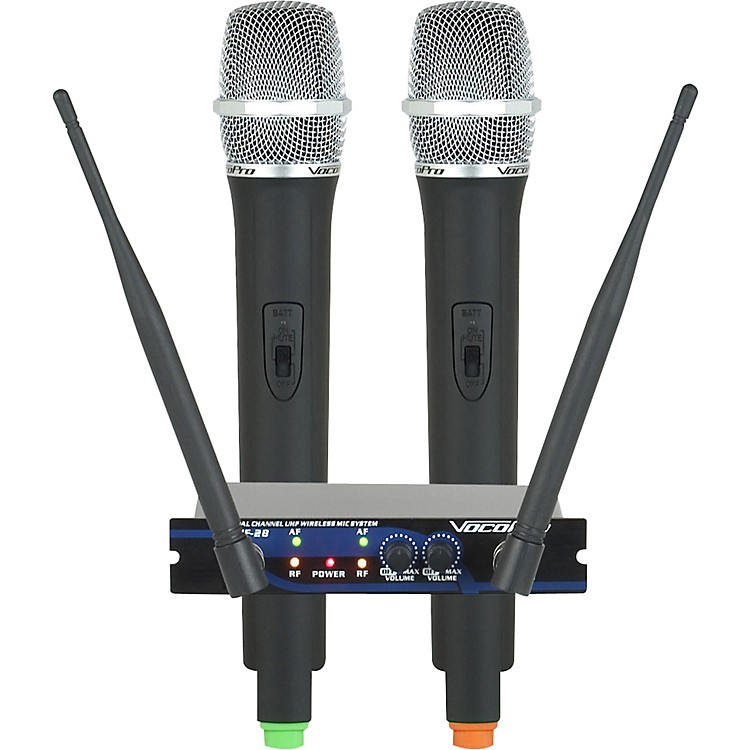 VocoProUHF-28 Dual Channel Wireless System