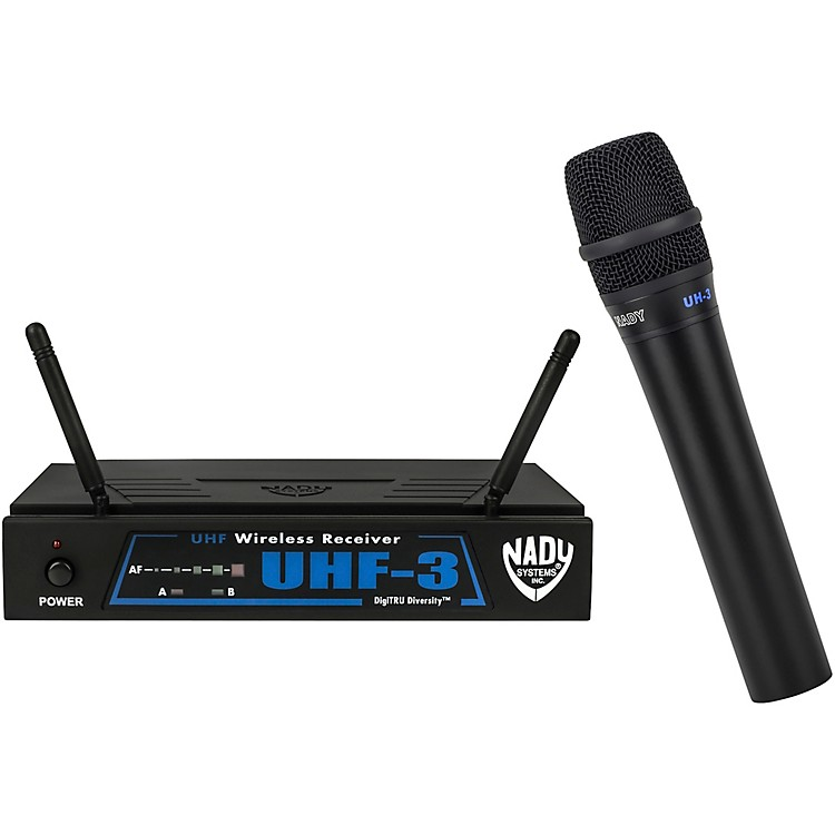 Nady UHF-3 Handheld Wireless System MU1/470.55