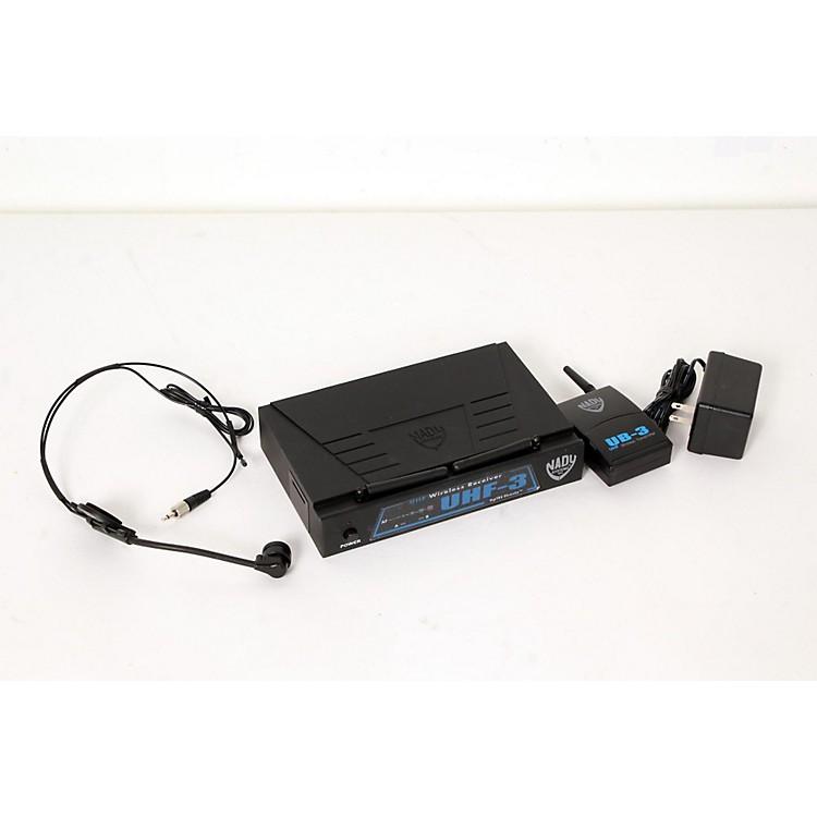 NadyUHF-3 Headset HM-3 Wireless SystemMU1/470.55888365839240