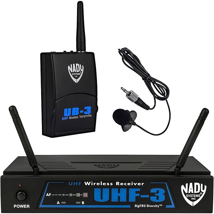 NadyUHF-3 Lavalier Wireless SystemMU2/480.55