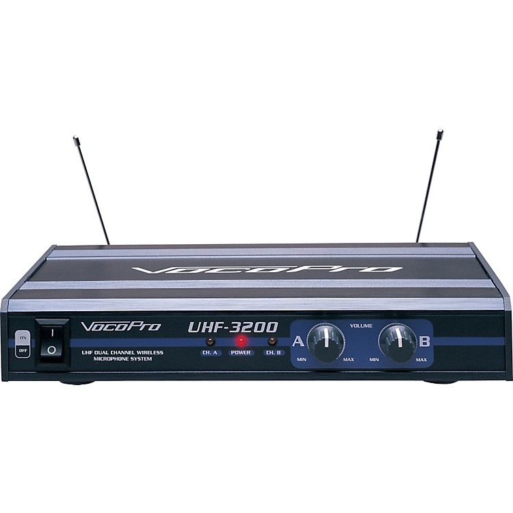 VocoProUHF-3200 Dual Wireless Mic System