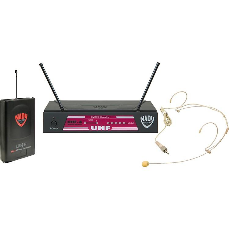 NadyUHF-4 Headset Wireless SystemBand 11, Black888365908267