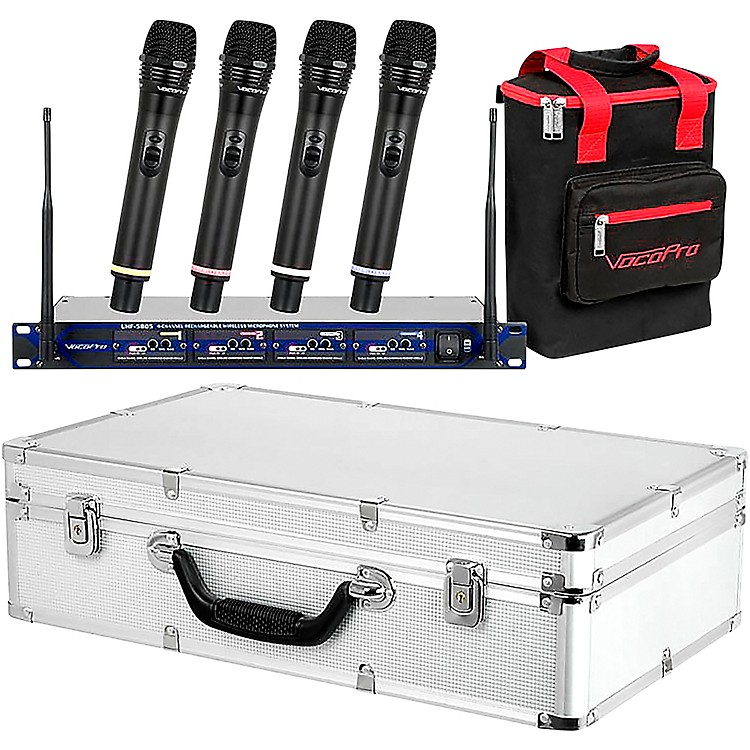 VocoProUHF-5805 Plus Rechargeable Wireless System with Mic BagBand 10