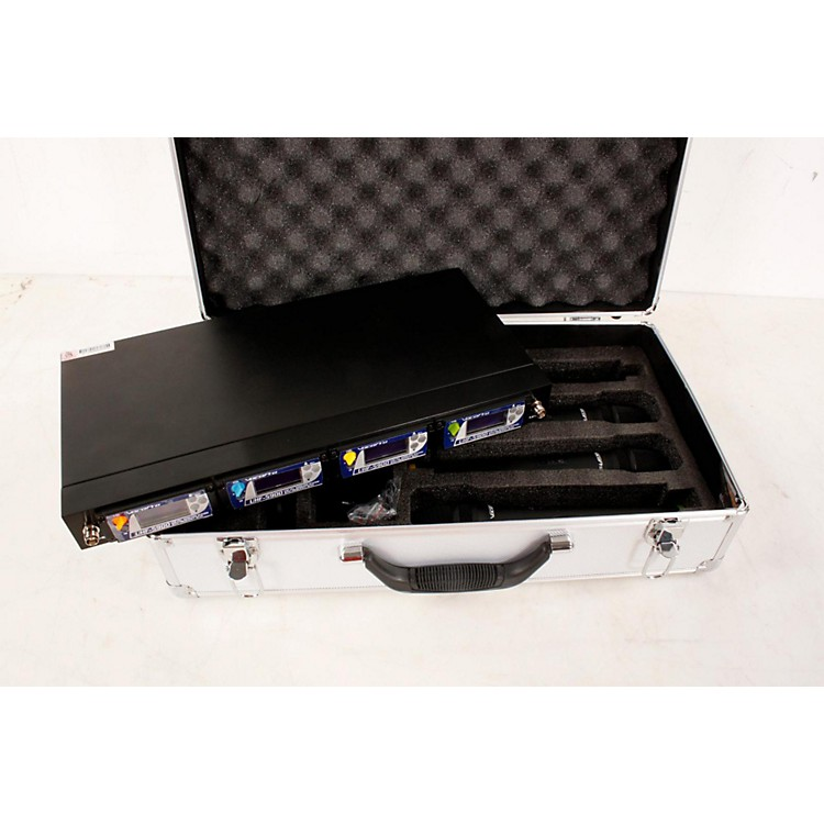 VocoProUHF-5900 4 Microphone Wireless System with Frequency ScanBand 2888365778228