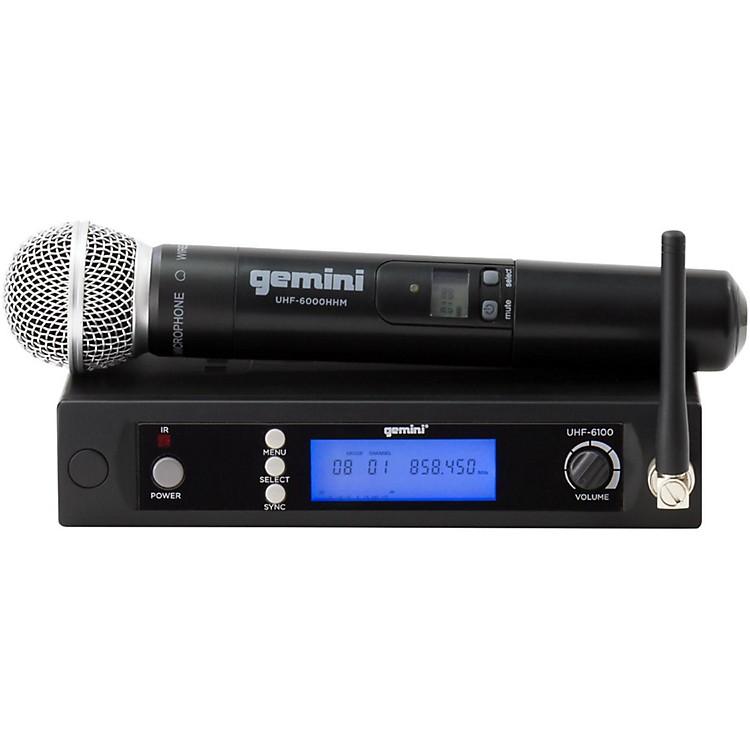 GeminiUHF-6100M Single Handheld Wireless System