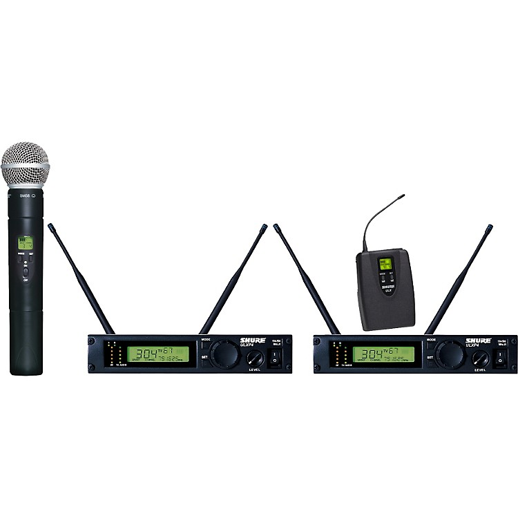 Shure ULXP124/58 Dual Channel Mixed Wireless System