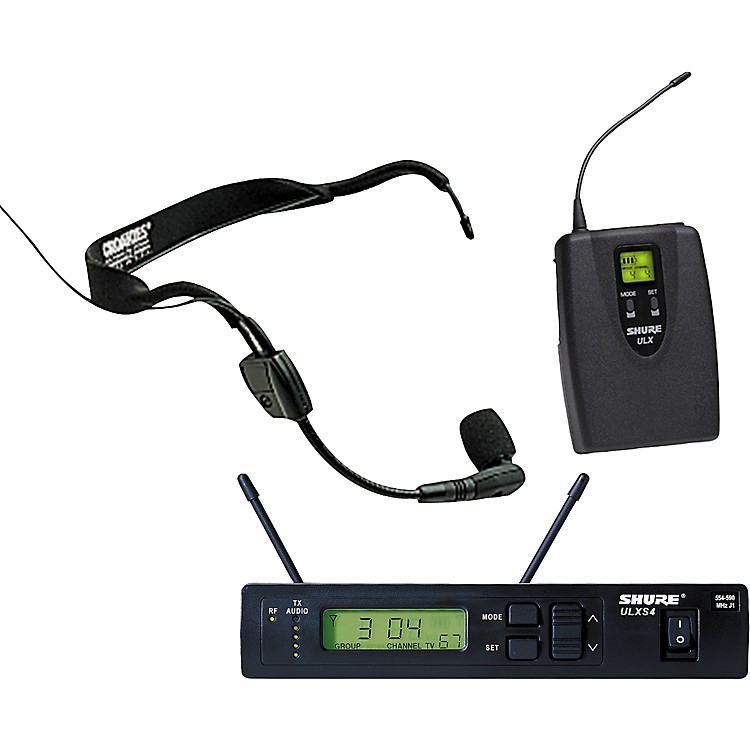Shure ULXS Wireless Headset System with WH30 Mic