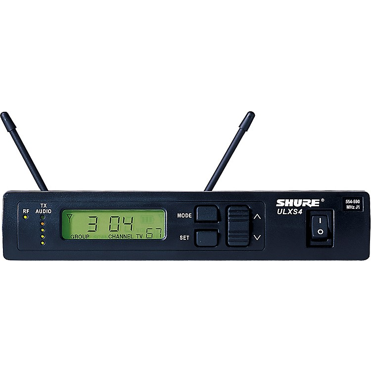 Shure ULXS4 Standard Wireless Receiver J1