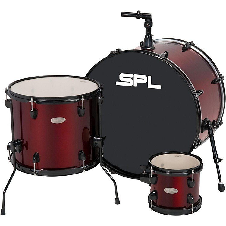 Sound Percussion Labs UNITY 3-Piece Add-On Shell Pack Wine Red