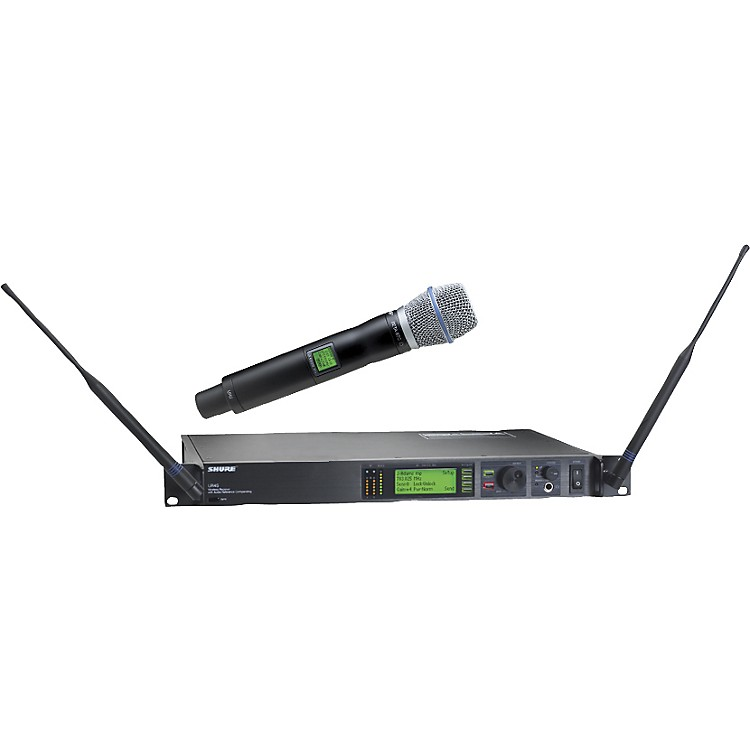 ShureUR24S/BETA87C Handheld Wireless Microphone System