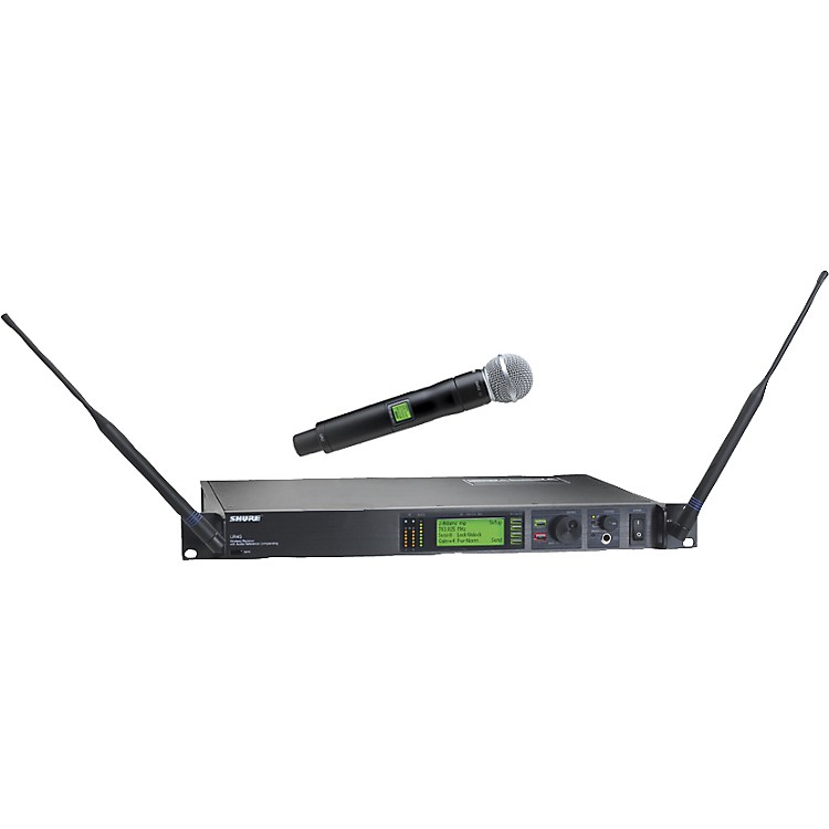 shure ur24s sm58 handheld wireless microphone system music123. Black Bedroom Furniture Sets. Home Design Ideas