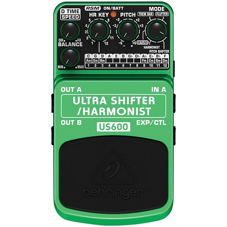 BehringerUS600 Ultra Shifter/Harmonist Guitar Effects Pedal