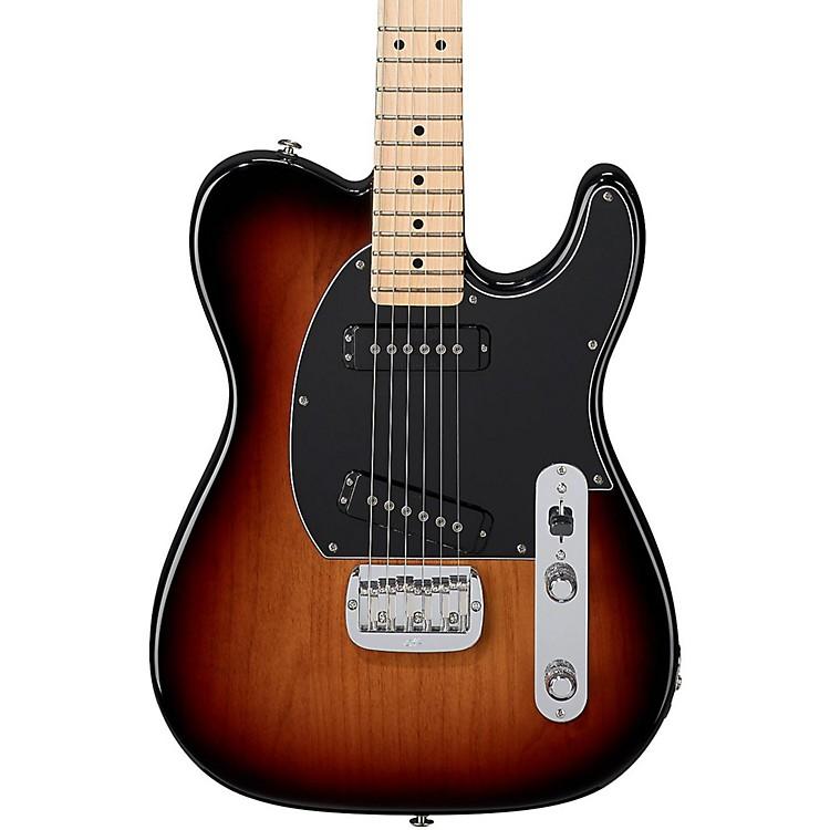 G&LUSA ASAT Special Maple Fingerboard Electric Guitar3-Tone SunburstBlack Pickguard