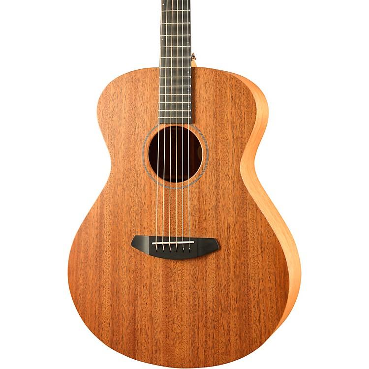 BreedloveUSA Concert Day Light E Mahogany - Mahogany Acoustic-Electric GuitarSatin Natural