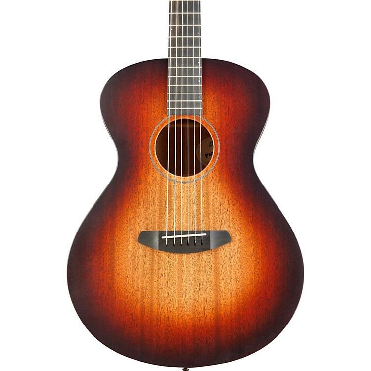 Breedlove USA Concert Fire Light Mahogany - Mahogany Acoustic-Electric Guitar Satin Burst