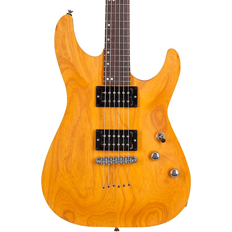 Schecter Guitar Research USA Custom Shop Sunset Standard Electric Guitar Honey