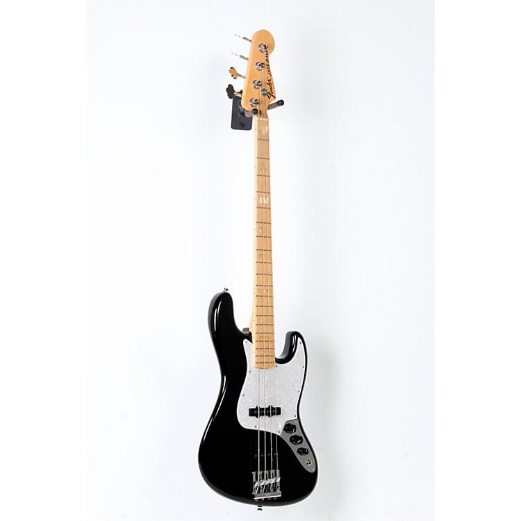 FenderUSA Geddy Lee Signature Jazz BassBlack, Maple Neck888365804132
