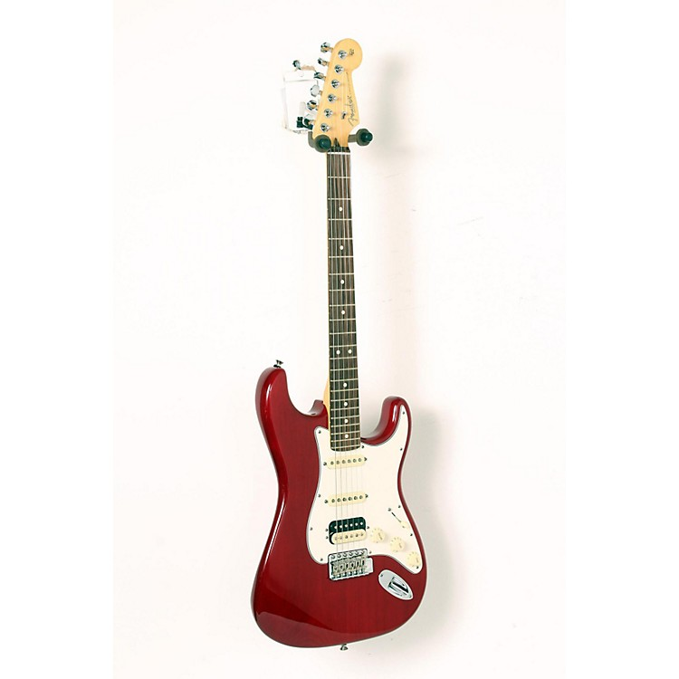 Fender USA Professional Stratocaster HSS Electric Guitar Transparent Crimson Red, Rosewood 888365911137
