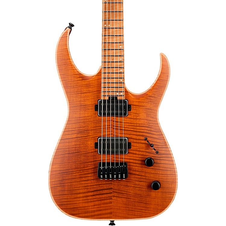 JacksonUSA Signature Misha Mansoor Juggernaut HT6FM Electric GuitarAmber Tiger Eye