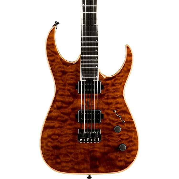 JacksonUSA Signature Model Misha Mansoor Juggernaut HT6 Electric GuitarAmber Tiger Eye