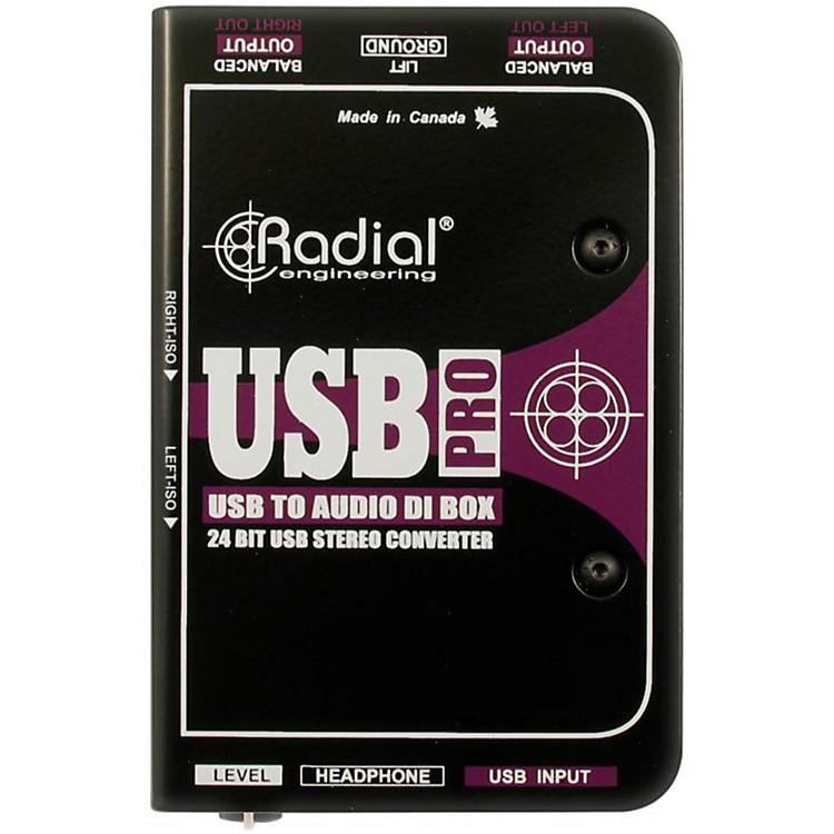 Radial EngineeringUSB-Pro Stereo USB Laptop DI