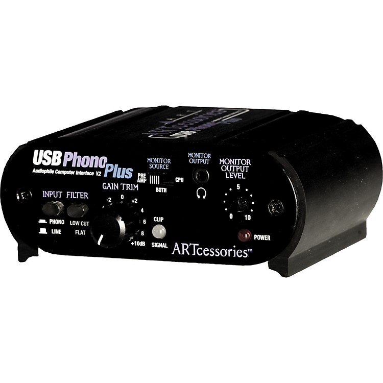 ARTUSBPhonoPlus v2 Computer Audio Interface