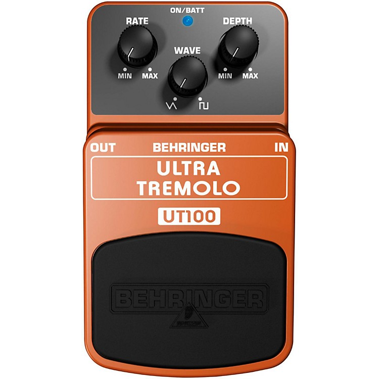 behringer ut 100 ultra tremolo guitar effects pedal music123. Black Bedroom Furniture Sets. Home Design Ideas