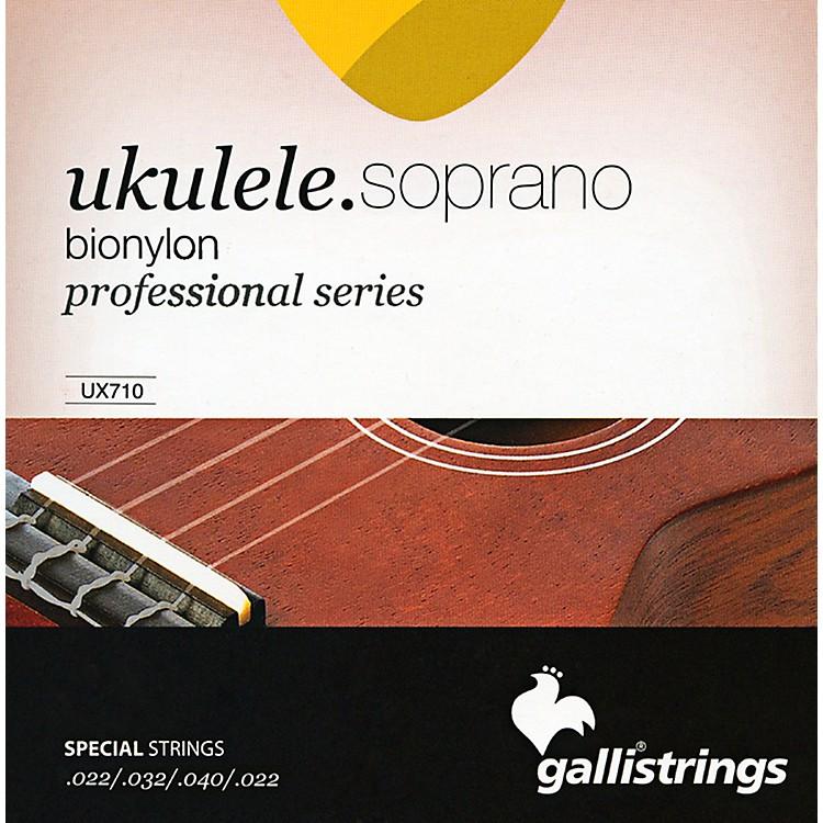 Galli StringsUX710 BIONYLON Soprano UKULELE Strings