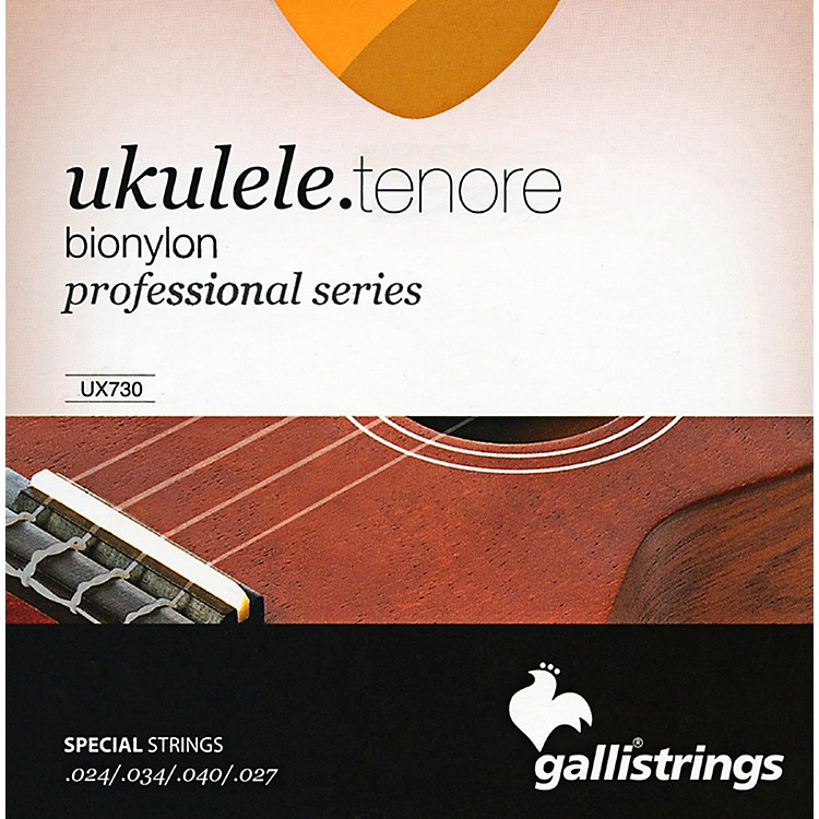 Galli Strings UX730 BIONYLON Tenor UKULELE Strings