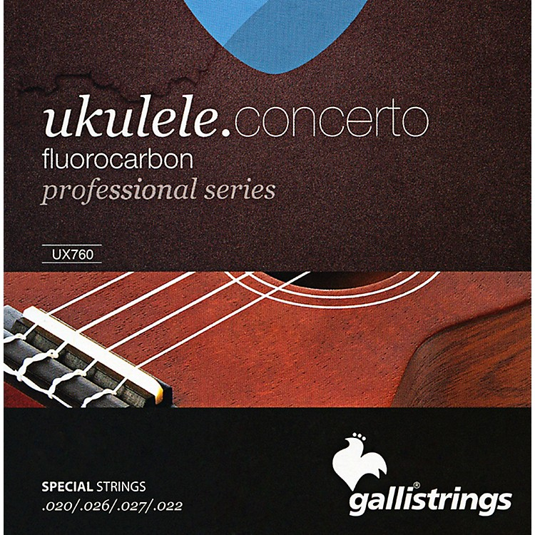 Galli Strings UX760 FLUOROCARBON Concerto UKULELE Strings