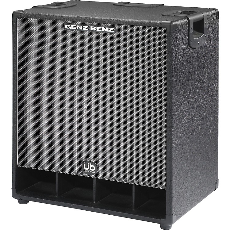 Genz BenzUber Bass 600W 2x12 Bass Speaker Cabinet